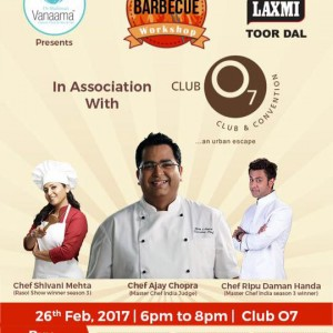 Live Barbeque Workshop in Ahmedabad
